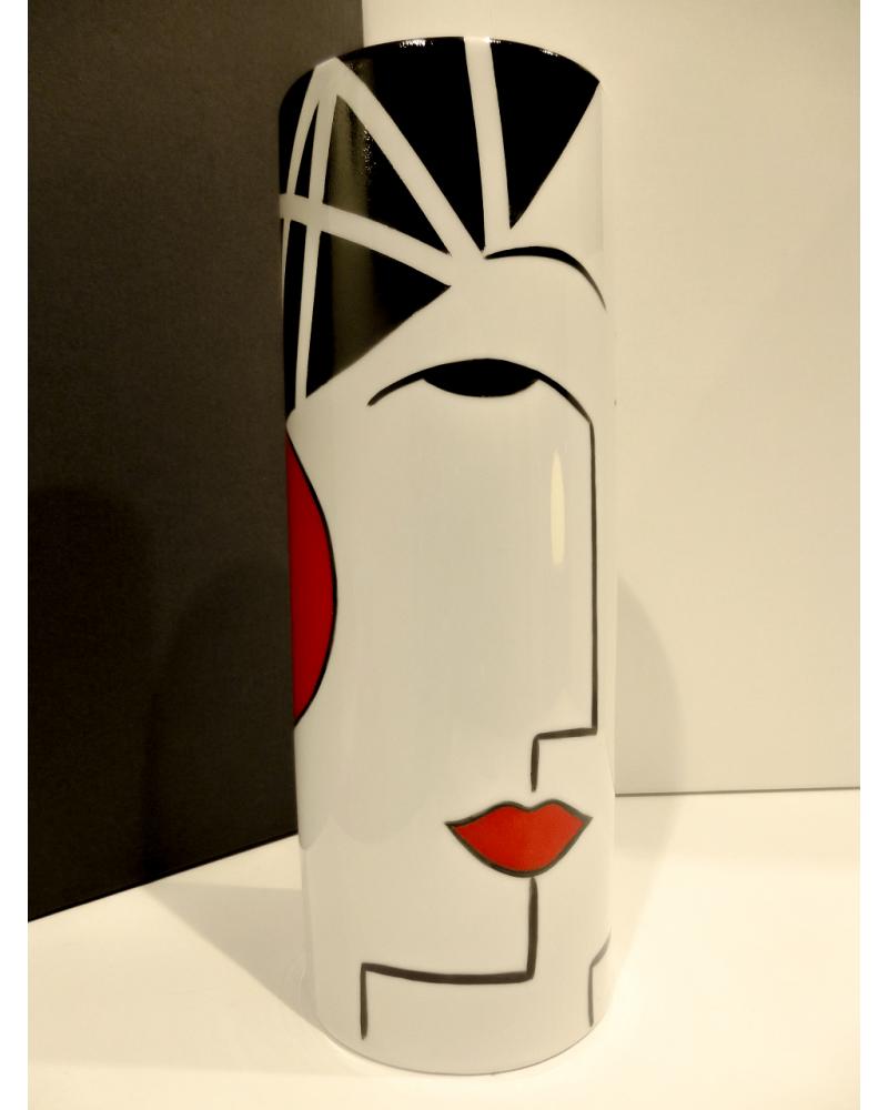 Vase cylindre TOI ET MOI MM