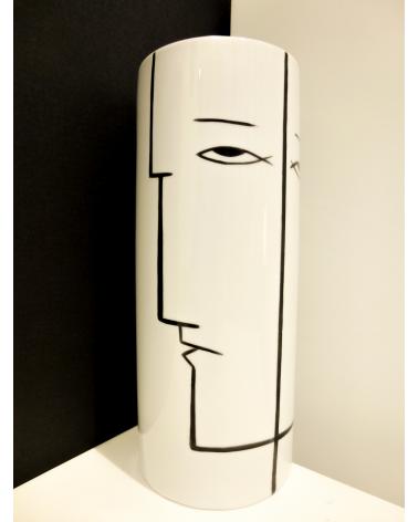 Vase cylindre TOI ET MOI PM