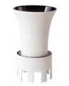 Vase TITAN noir et blanc